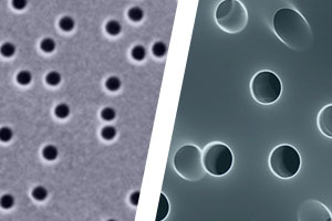 Track-etched membrane filters