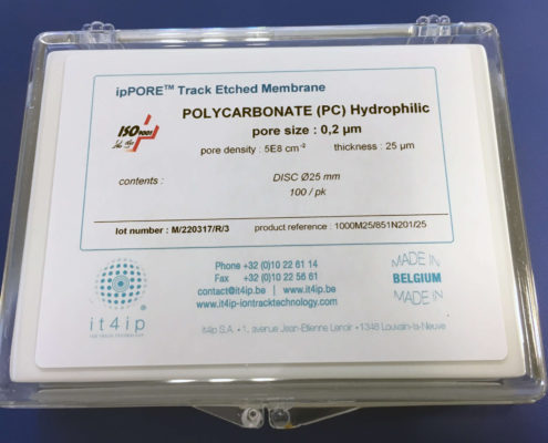 ipPORE™ track-etched membrane filters